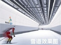 2019 © Schneesstation - XC Skihalle in Jilin - Foto: Wanda Press